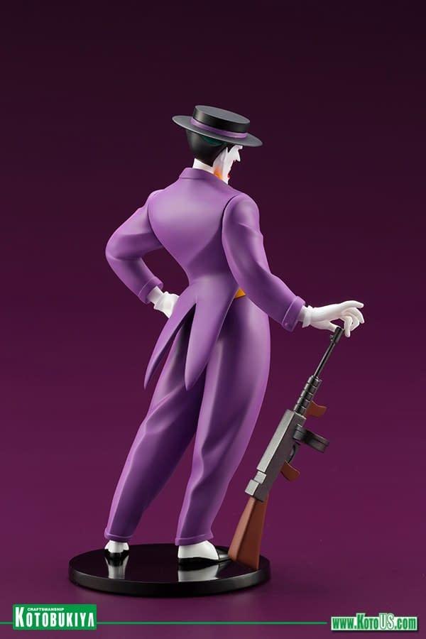 Batman: The Animated Series Joker and Harley Quinn Statues Coming From Kotobukiya