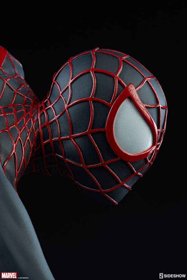 Miles Morales Premium Format Figure on Its Way from Sideshow