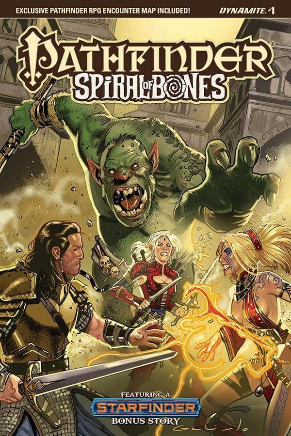 Writer's Commentary: Crystal Frasier Talks Pathfinder: Spiral of Bones #1