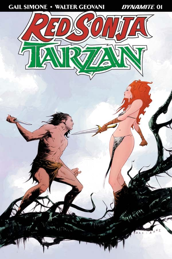 Gail Simone on Bringing Together Tarzan of the Jungle and the She-Devil, Red Sonja