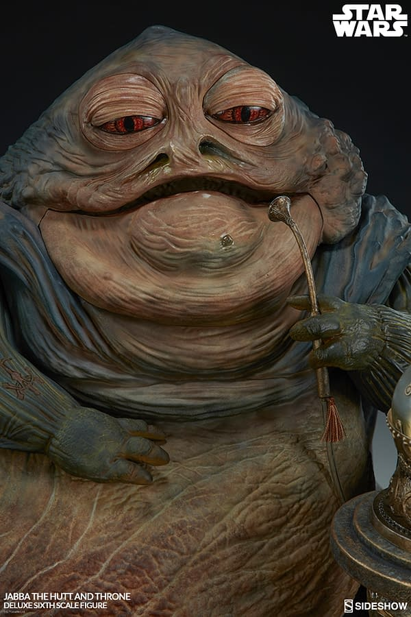 Star Wars Villain Jabba the Hutt Joins Sideshow Collectibles' Sixth Scale Figure Line