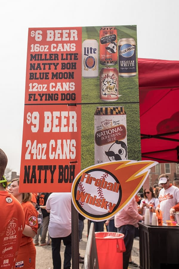 Beer and Baseball in Baltimore: Orioles Opening Day 2018