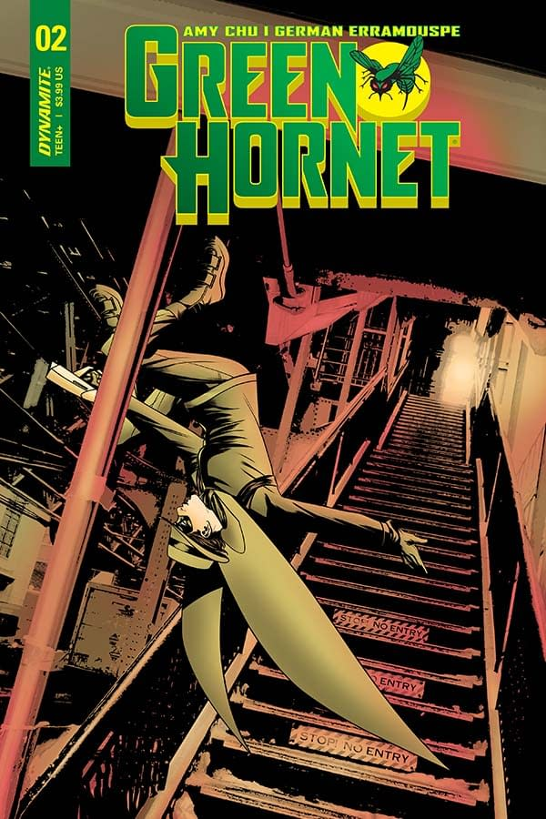 Writer's Commentary: Amy Chu Talks Green Hornet #2