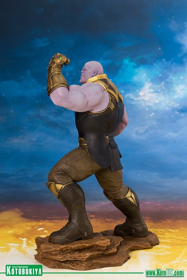 Thanos to Rule Your Kotobukiya Collection in November