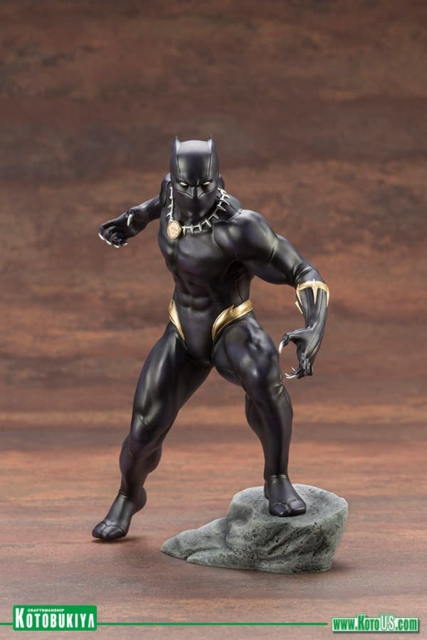 Black Panther Gets a New Statue from Kotobukiya
