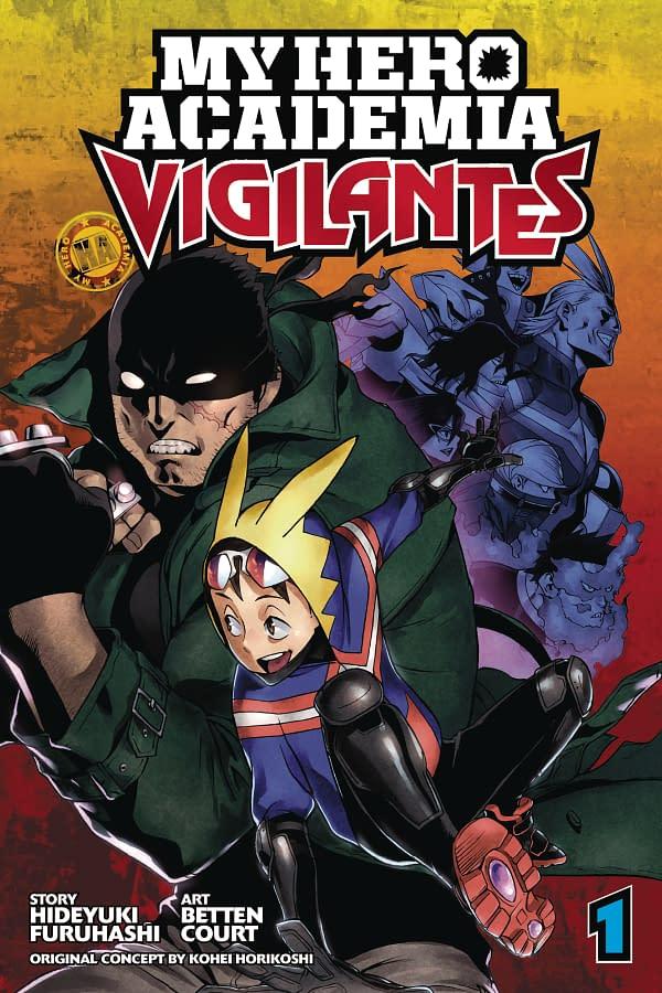 Meet the Vigilantes of My Hero Academia: VIZ Media July 2018 Solicits