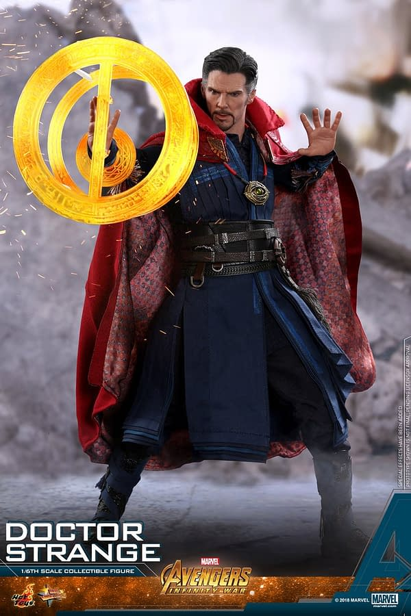 Doctor Strange Infinity War Hot Toys 5