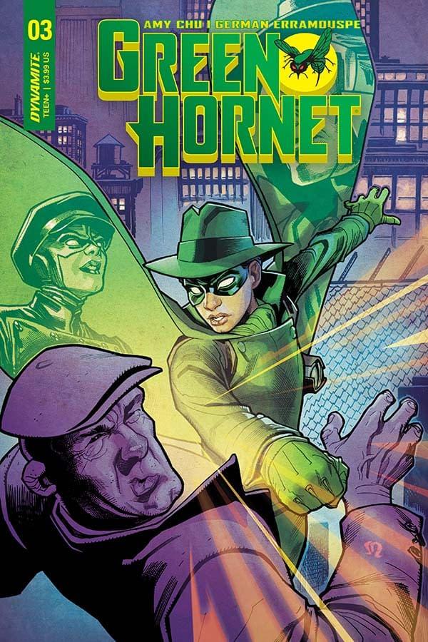Writer's Commentary: Amy Chu Talks Green Hornet #3