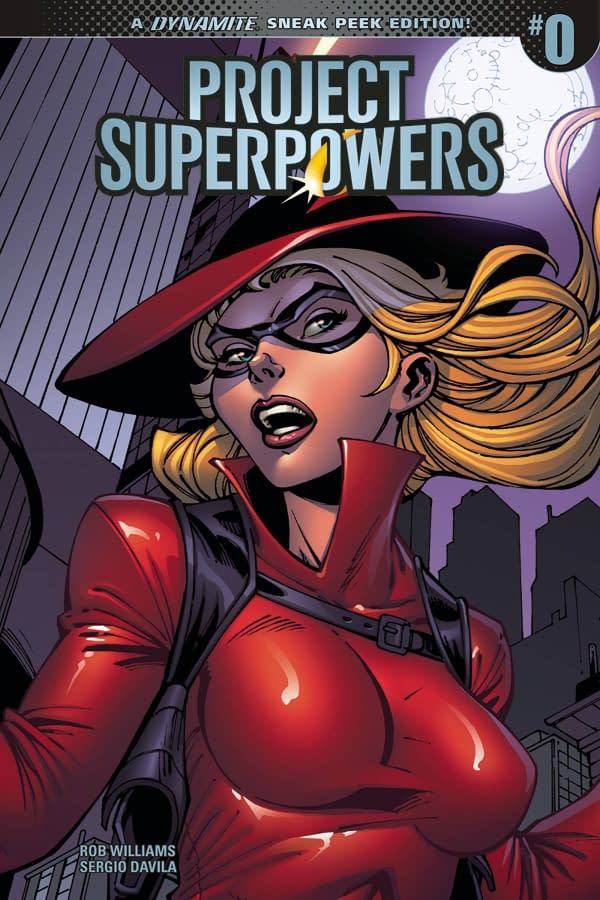 Project Superpowers #0 is a 10-Cent Launch Issue – but You Can Pay More If You Want