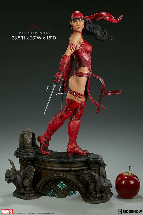 Sideshow Collectible Premium Format Figure Elektra 5