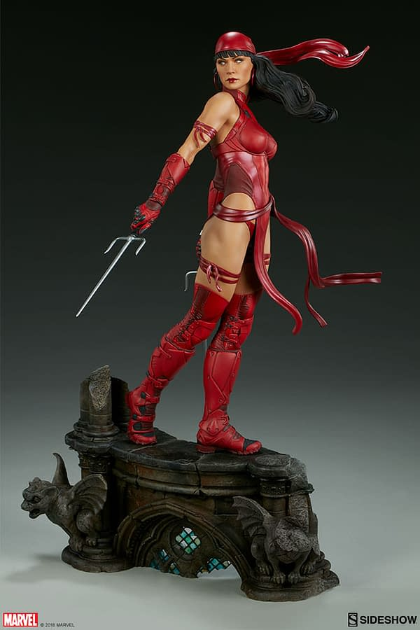 Sideshow Collectible Premium Format Figure Elektra 6