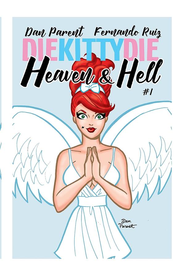 Kitty Meets Her End in Dan Parent and Fernando Ruiz's Die Kitty Die: Heaven & Hell