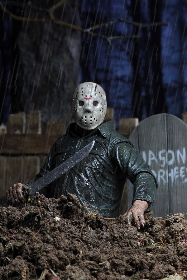 """NECA Friday The 13th Part 5 New Beginning JASON VOORHEES Ultimate 7"""" Figure"""