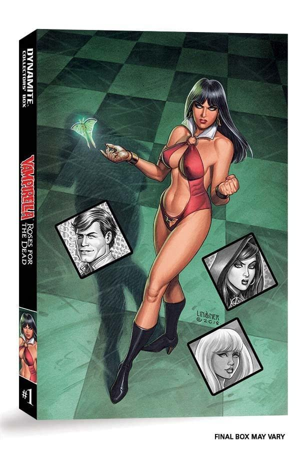Vampirella: Roses for the Dead Box Set on Kickstarter