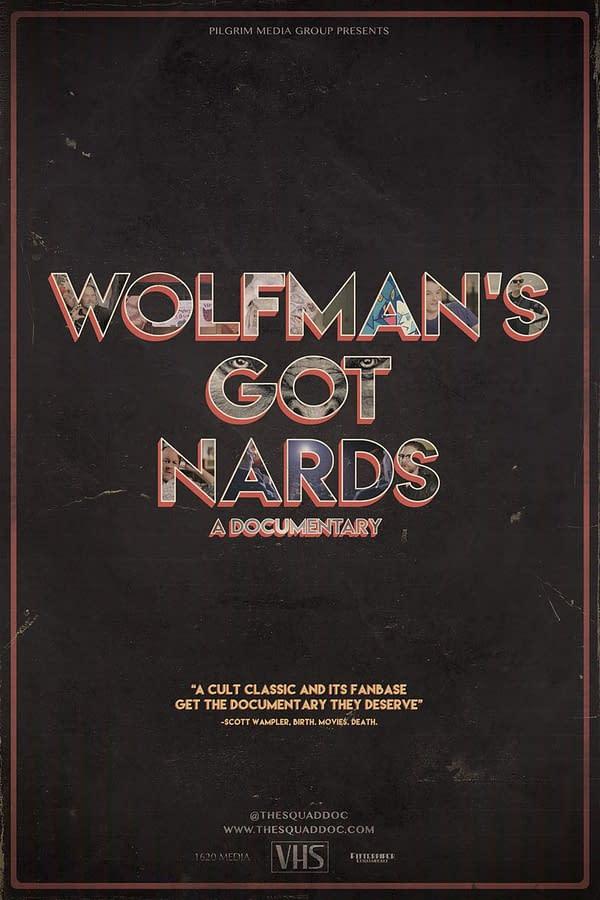 Wolfman's Got Nards Monster Squad Poster