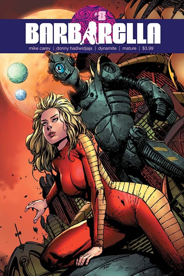 Mike Carey's Writer's Commentary on Barbarella #8: Bringing Back the Bonin'