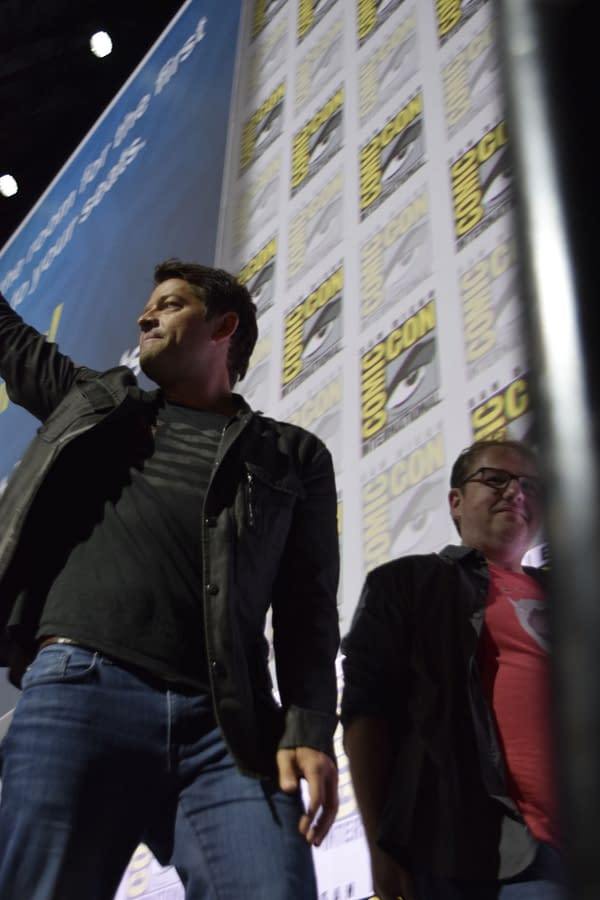 Supernatural Celebrates Its Upcoming 14th Season at SDCC