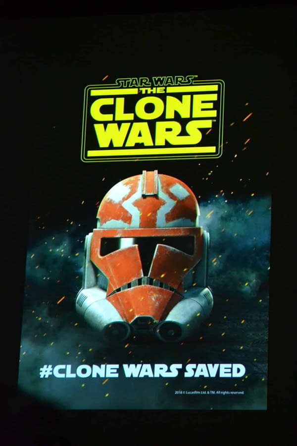 Clone Wars 10th Anniversary Panel: Celebrating Star Wars Animation at SDCC