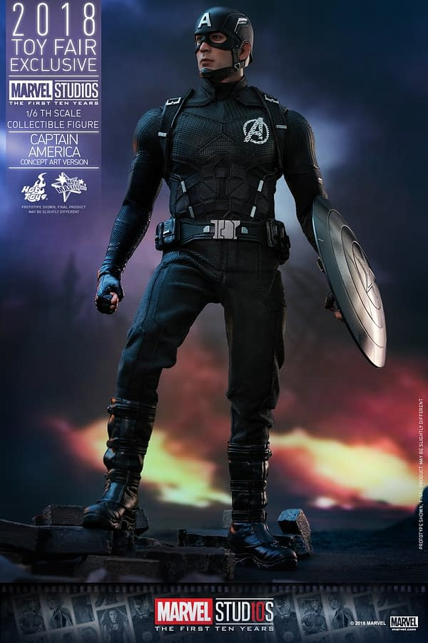 Hot Toys Concept Art Captain America 1