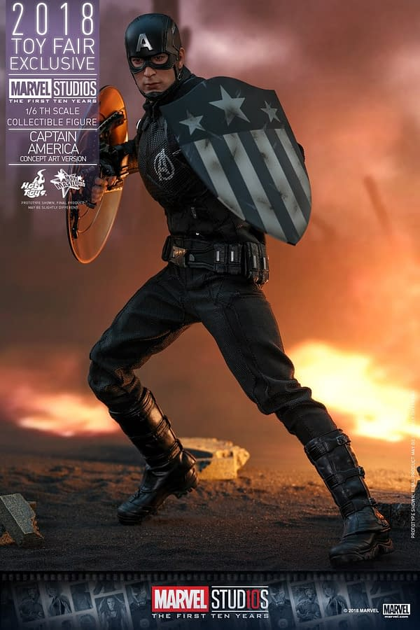 Hot Toys Concept Art Captain America 10