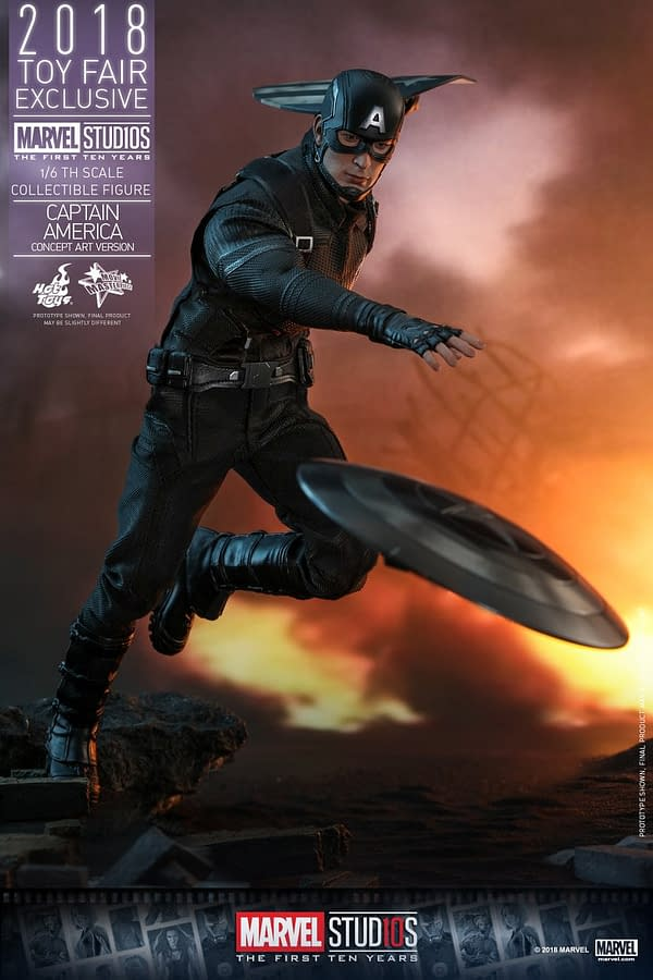 Hot Toys Concept Art Captain America 11