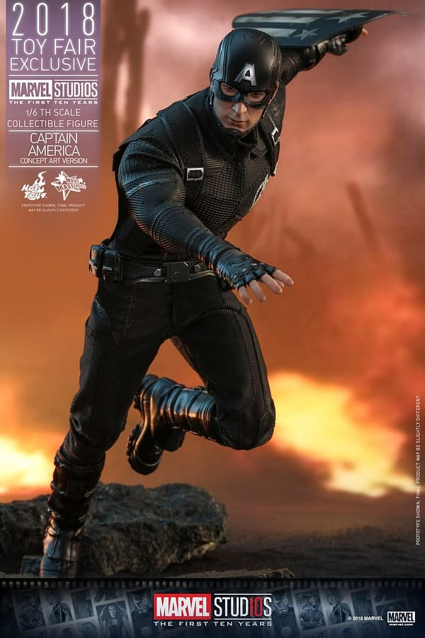 Hot Toys Concept Art Captain America 12