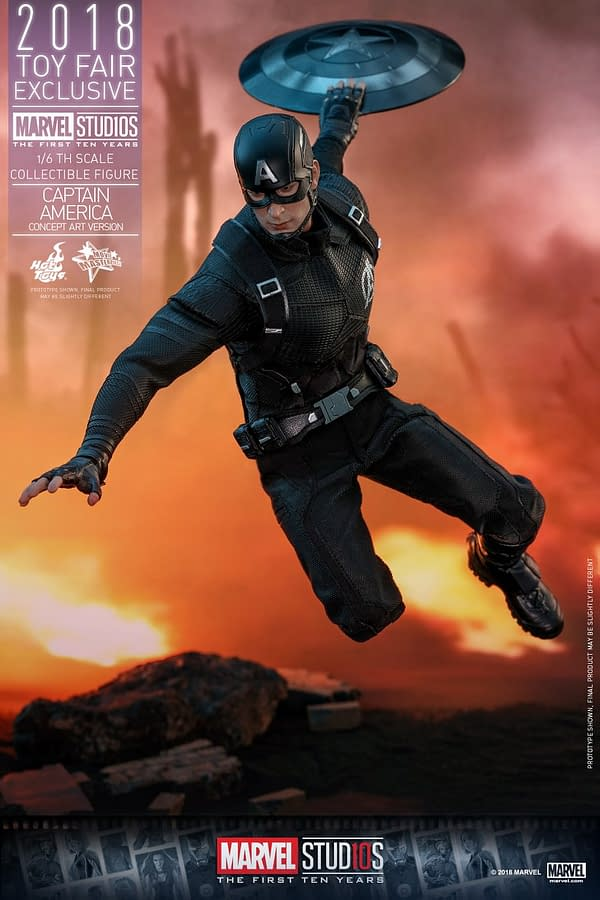 Hot Toys Concept Art Captain America 14