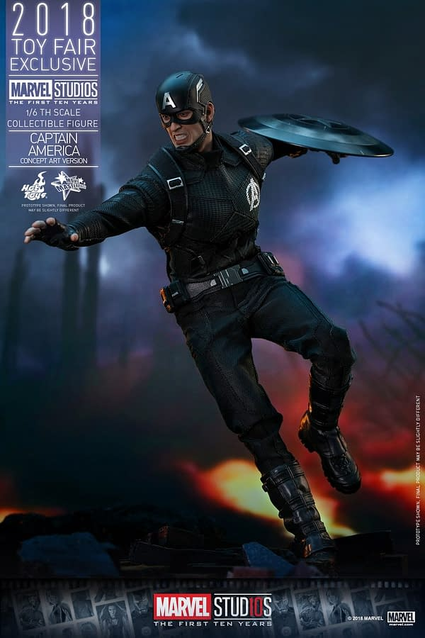 Hot Toys Concept Art Captain America 15