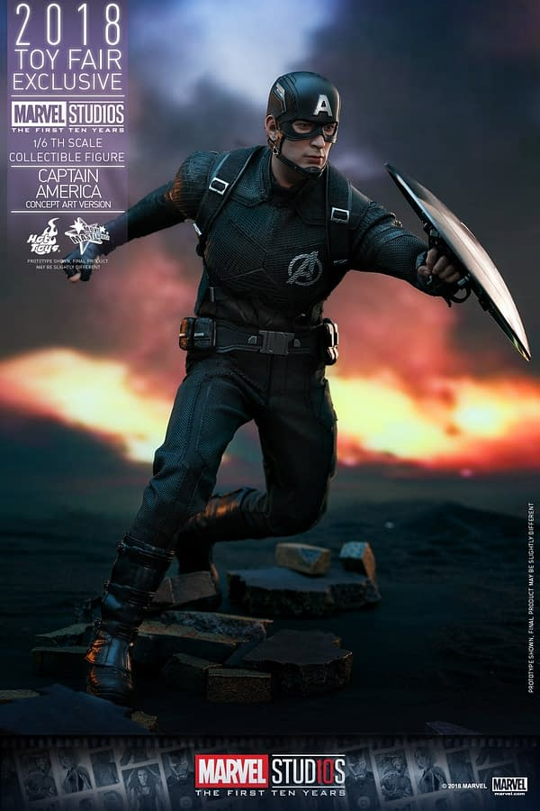 Hot Toys Concept Art Captain America 16