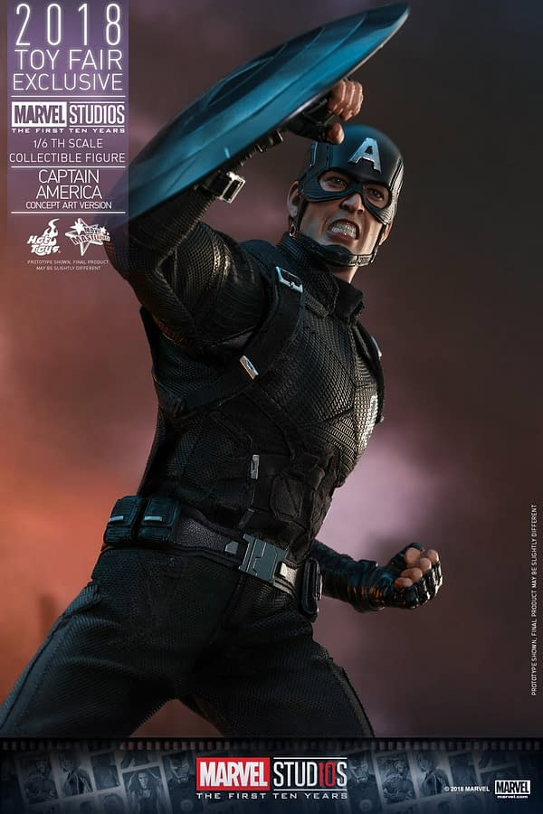 Hot Toys Concept Art Captain America 17