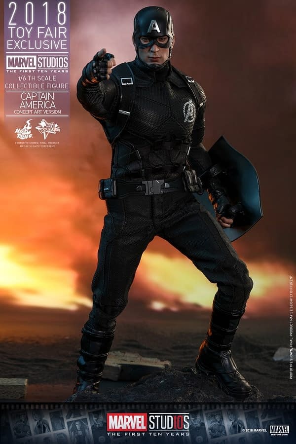 Hot Toys Concept Art Captain America 3