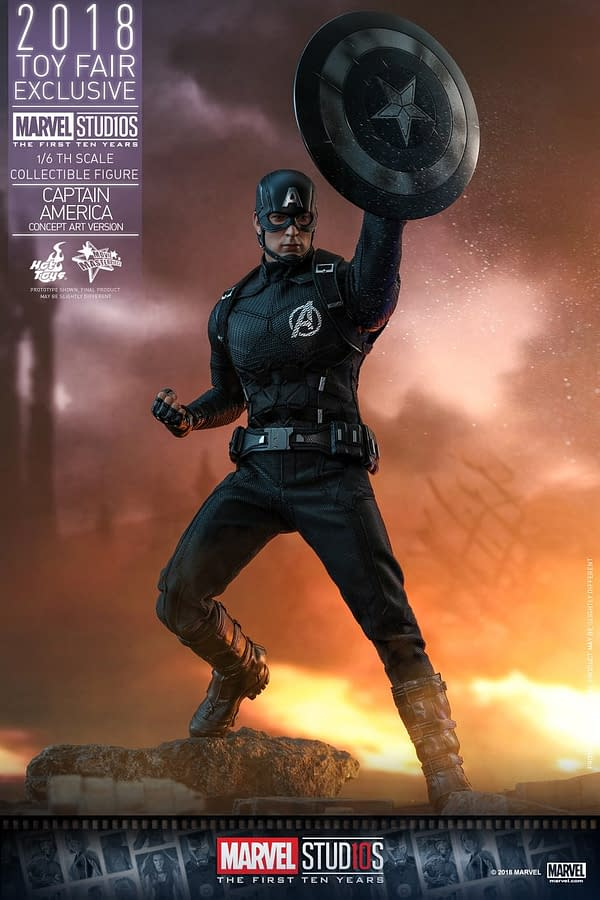 Hot Toys Concept Art Captain America 4