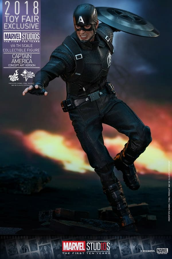Hot Toys Concept Art Captain America 9