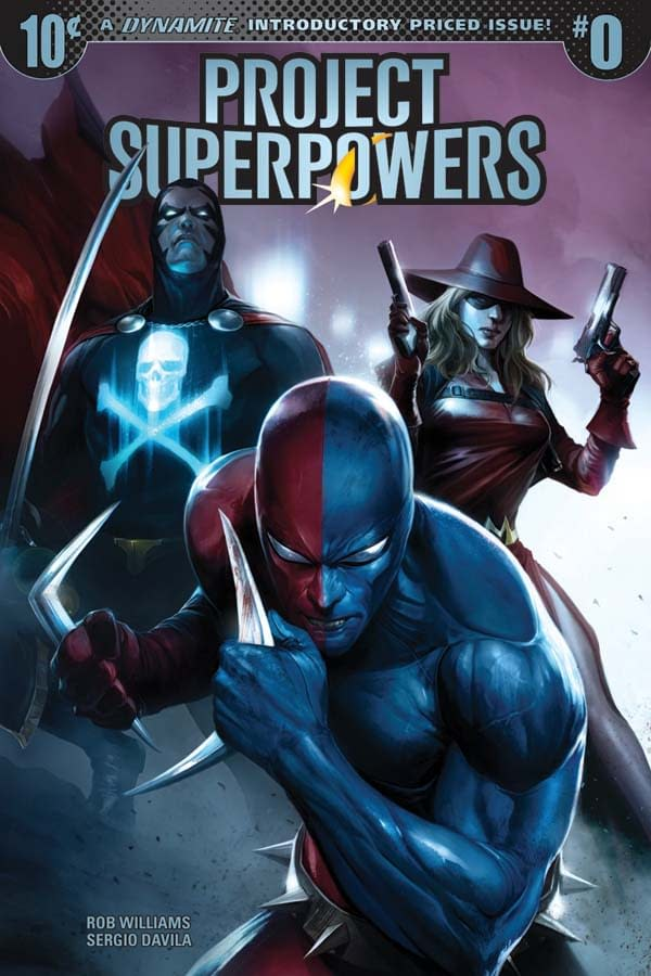 Writer's Commentary: Rob Williams on the 10-Cent Project Superpowers #0