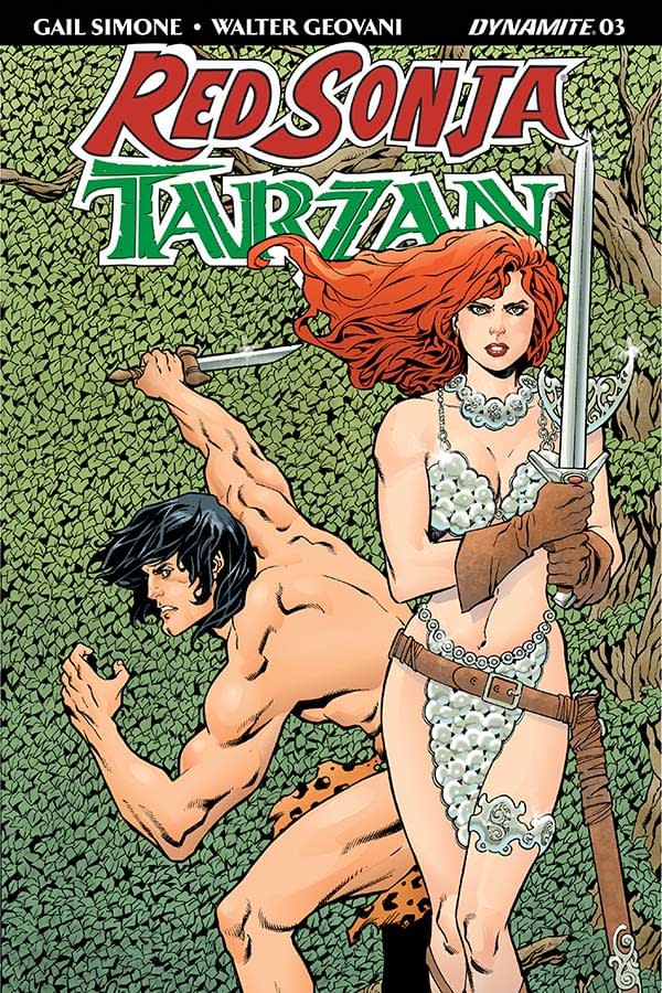 """Gail Simone's Writer's Commentary for Red Sonja/Tarzan #3 – """"Tarzan Is Adopted Everywhere, Sonja Is Alone"""""""