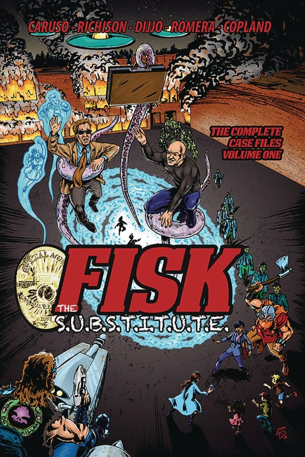 Fisk, Deadworld and Vietnam Journal from Caliber Press in October 2018 Solicits