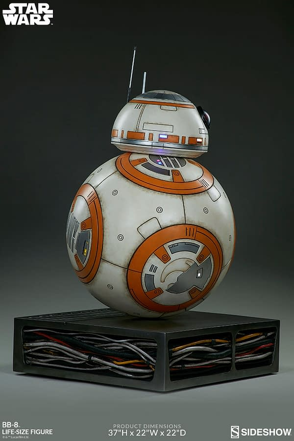 Sideshow Collectibles Star Wars Life Size BB-8 10