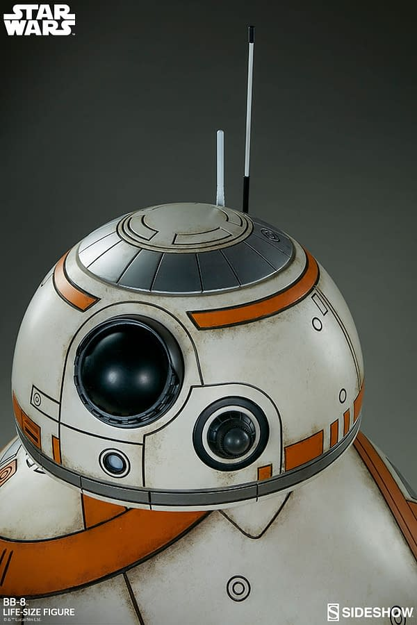 Sideshow Collectibles Star Wars Life Size BB-8 19
