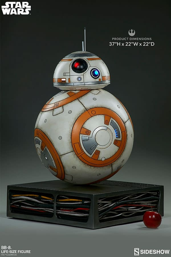 Sideshow Collectibles Star Wars Life Size BB-8 5