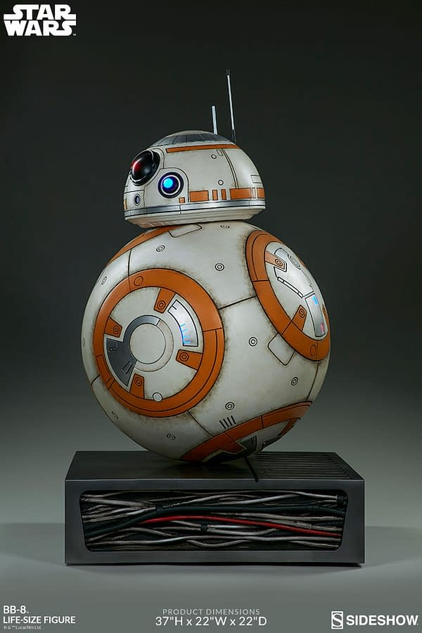 Sideshow Collectibles Star Wars Life Size BB-8 6