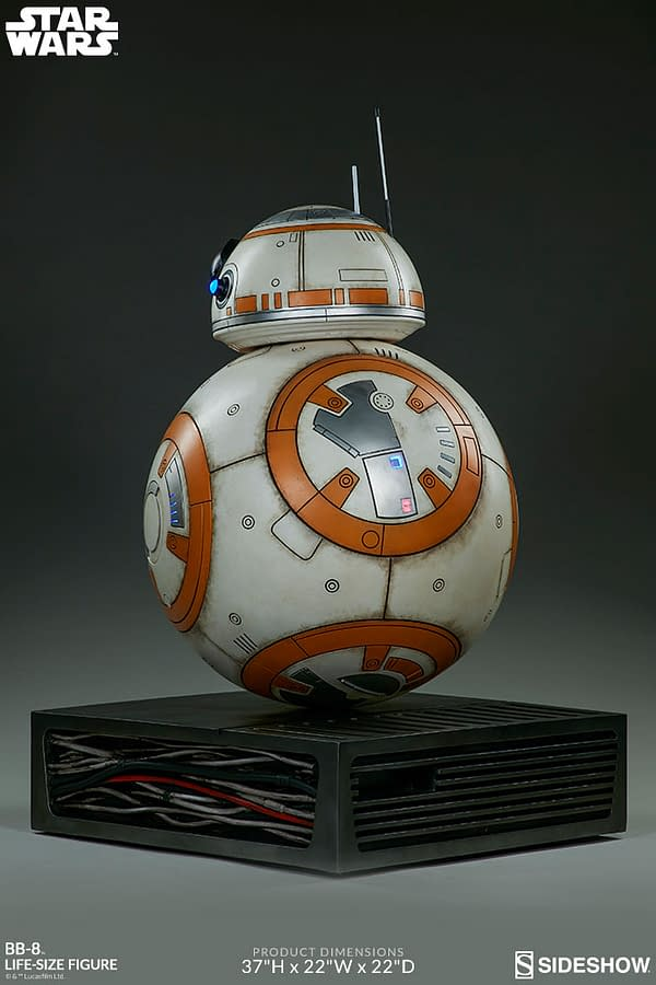 Sideshow Collectibles Star Wars Life Size BB-8 7
