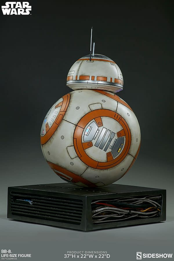 Sideshow Collectibles Star Wars Life Size BB-8 9