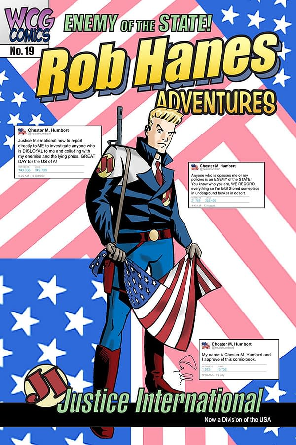 Rob Hanes Adventures Reflects the Current Political Administration for San Diego Comic-Con