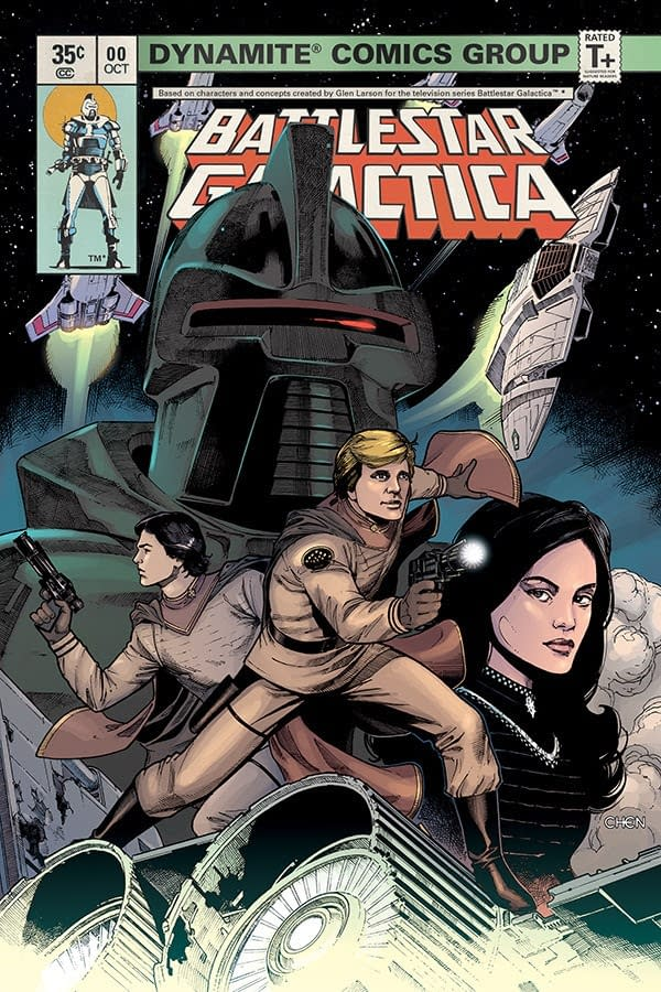 John Jackson Miller and Daniel HDR Launch 35-Cent Battlestar Galactica #0 in October from Dynamite