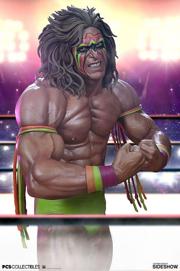 WWE Hall of Famer The Ultimate Warrior 1/4 Scale Statue Coming in 2019