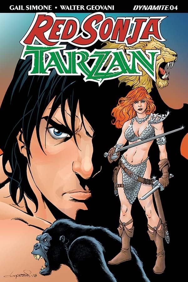 Gail Simone's Writer's Commentary on Red Sonja/Tarzan #4