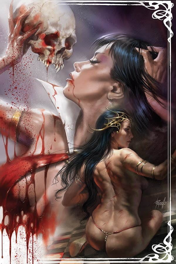 All the Retailer Exclusive Covers of Dejah Thoris/Vampirella #1