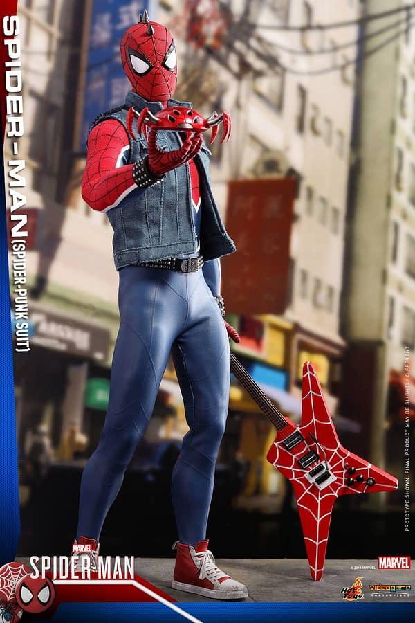 Hot Toys Spider Man Spider Punk Figure 4