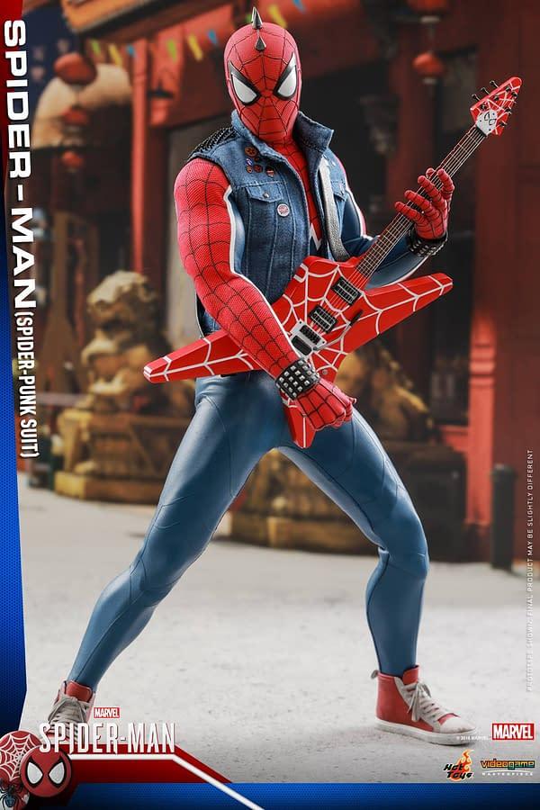 Hot Toys Spider Man Spider Punk Figure 8