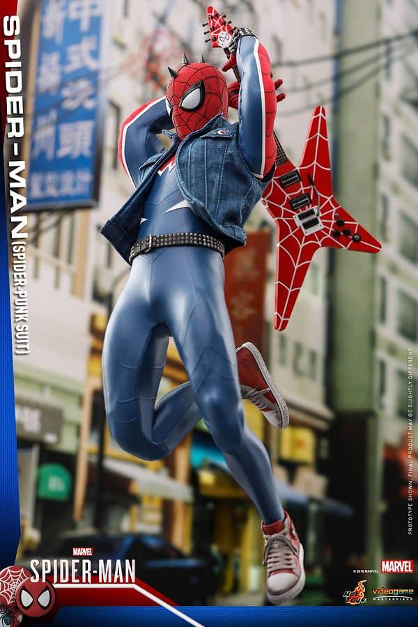 Hot Toys Spider Man Spider Punk Figure 9